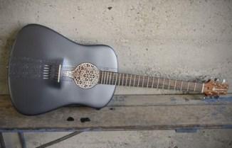 גיטרה בהדפסת תלת מימד